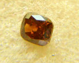NATURAL-SOLITIARE -BROWN-RED DIAMOND-1.05CTWSIZE-1PCS,NR