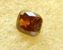NATURAL-SOLITIARE -BROWN-RED DIAMOND-1.05CTWSIZE-1PCS,NR