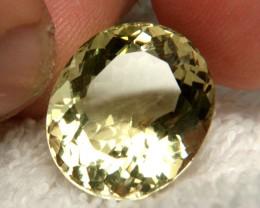 20.02 Ct. IF/VVS1 100% Natural Yellow Quartz - Gorgeous Gem