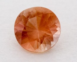 0.9ct Oregon Sunstone, Peach Round (S796)