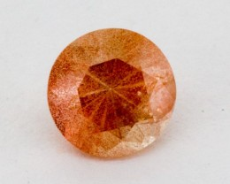 1ct Oregon Sunstone, Peach Round SCHILLER (S799)