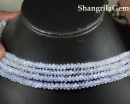 7mm Rainbow Moonstone AA beads 10