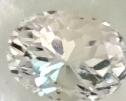5.5ct Ice White  Afganistan Untreated Kunzite  VVS A328