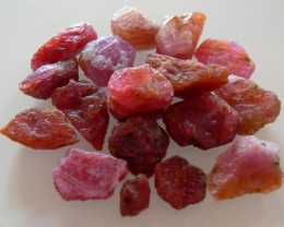 PARCEL ROUGH RUBY MOZAMBIQUE NO HEAT 101,60 CTS