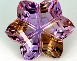 Ametrine Carvings