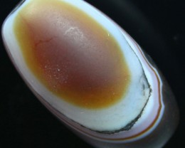71.20 CTS BANDED AGATE DRILLED LARGE BEAD