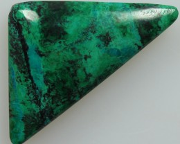 22.90CTS TOP CHRYSOCOLLA GREEN/BLUE POLISHED STONE FROM PERU