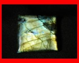 38cts 26mm Large Pendant Labradorite Stone Z36
