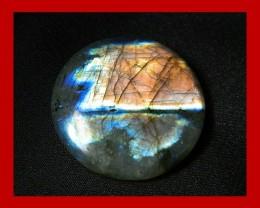 88cts 37mm Large Pendant Labradorite Stone Z40