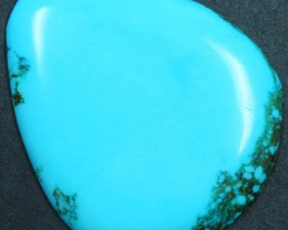 67.80 CTS HOWLITE DYED TO LOOK LIKE TURQUOISE