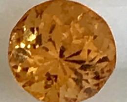 2.10ct CERTIFIED Bright Orange Spessartine Garnet, Namibia A126
