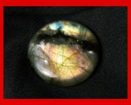46cts 27mm Large Pendant Labradorite Stone Z115