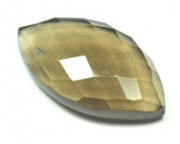 29mm marquise SMOKEY QUARTZ  gem 25.35ct
