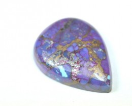 22mm Purple and blue an pink Mojave Bronzed TURQUOISE cab