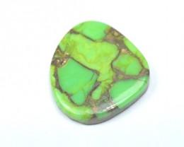 23mm Turquoise Mojave bronzed Green designer cabochon