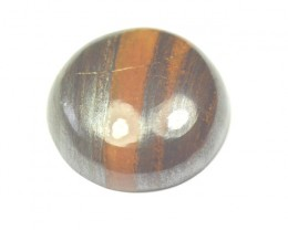 19.5mm Tigers Iron round cabochon 19.5 round by 6mm