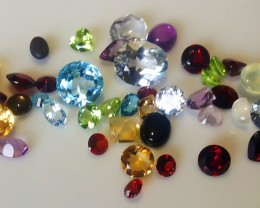 INCREDIBLE 50 GEM PARCEL DEAL - AMAZING STONES CLEARANCE