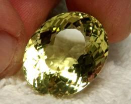 31.09 Ct. Beautiful, Natural, VVS1 Brazil Praisolite