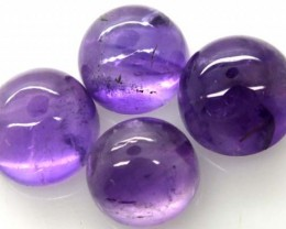 AMETHYST CABS (4 PC) 18.20 CTS CG-1288