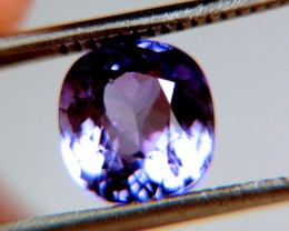 CERTIFIED - 3.14 Carat VVS/VS Purple Tanzanite