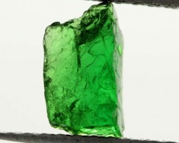 1.25 CTS TSAVORITE (GREEN GARNET) ROUGH CRYSTAL [MGW3517]