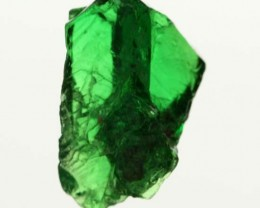 1.44 CTS TSAVORITE (GREEN GARNET) ROUGH CRYSTAL [MGW3520]