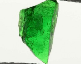 1.13 CTS TSAVORITE (GREEN GARNET) ROUGH CRYSTAL [MGW3523]