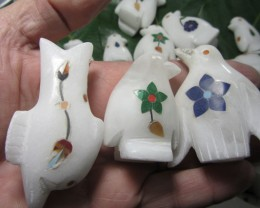 TRADE DEAL20   PCS  MARINE MARBLE INLAID    MS 19