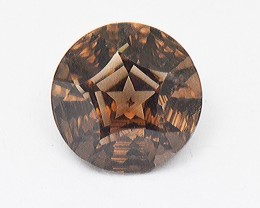 NEW IDAR OBERSTEIN 'Ashlea' cut 9.45ct Smokey Quartz 14mm