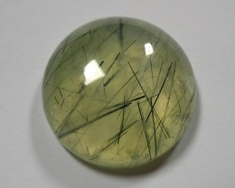 VERY NICE NATURAL RUTILATED PREHNITE 52 CTS