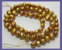 """PLUM COLORED FRESHWATER NEAR ROUND PEARLS-A++-GORGEOUS!!"""
