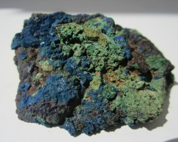 143g AZURITE MALACHITE MINERAL SPECIMEN FROM CHINA