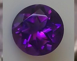 CERTIFIED ~ THE  ELUSIVE AND INCREDIBLY BEAUTIFUL SIBERIAN AMETHYST ~ 2cts