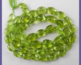 AAA+ 5X7-6X8MM PERIDOT FACETED OVALS-SUPERB IN ALL FACETS!!