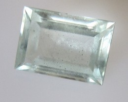 2.18cts Natural Aquamarine Baguette Cut