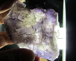0.217 KILO    NATURAL  FLUORITE SPECIMEN  MS 1974