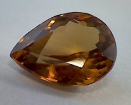 Stunning 1.93ct Golden Brown Ceylon Zircon VVS A263