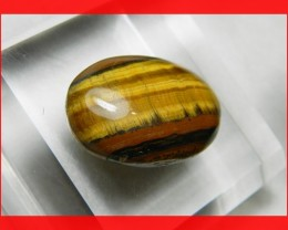 31mm 52cts Natural Shimmering Tiger Eye Cab Stone Z375