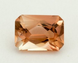 1.4ct Oregon Sunstone, Rectangle Peach (S1630)