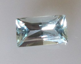 0.91cts Natural Aquamarine Radient Cut
