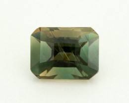 1.2ct Oregon Sunstone,  Green Rectangle (S1631)