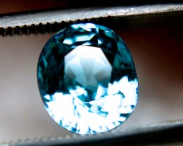 2.75 Carat VVS1 Blue Southeast Asian Zircon - Gorgeous