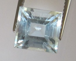 1.25cts Natural Aquamarine Square Cut