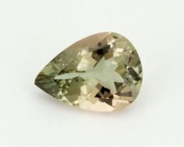 1.7ct Oregon Sunstone, Green/Peach Pear (S1600)