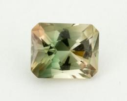 2.2ct Oregon Sunstone, Green/Champagne Rectangle (S1606)