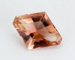 2.2ct Oregon Sunstone, Peach Modified Diamond S221