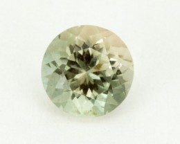 1.2ct Oregon Sunstone, Champagne/Green Round (S1604)