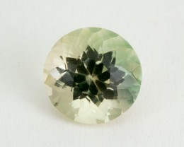 2.7ct Oregon Sunstone, Champagne/Green Round (S1621)