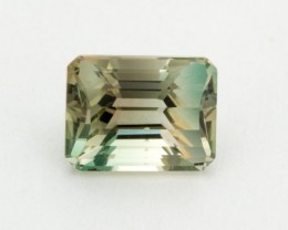 2.1ct Oregon Sunstone, Champagne/Green Rectangle (S1628)