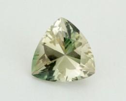 2.3ct Oregon Sunstone, Champagne/Green Triangle (S1652)